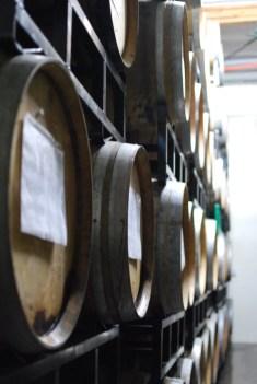 Barrels at The Bruery