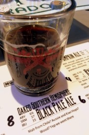 Oaked Southern Hemisphere Black Pale Ale at Mockery Brewing Co, Denver CO | BottleMakesThree.com