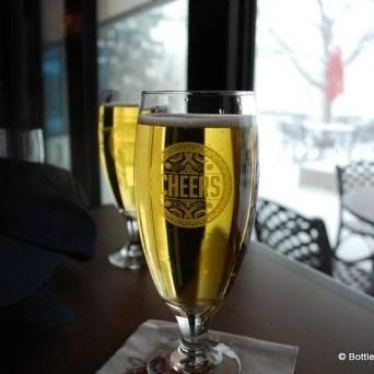 Bud Light sample at Budweiser Tour, Fort Collins Co | BottleMakesThree.com