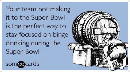 Super Bowl XLIX Drinking Game