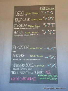 Renegade Brewing, Denver CO | BottleMakesThree.com