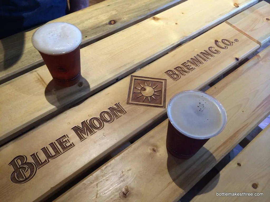 Blue Moon Brewing Co at The SandLot. Coors Field, Denver CO | bottlemakesthree.com