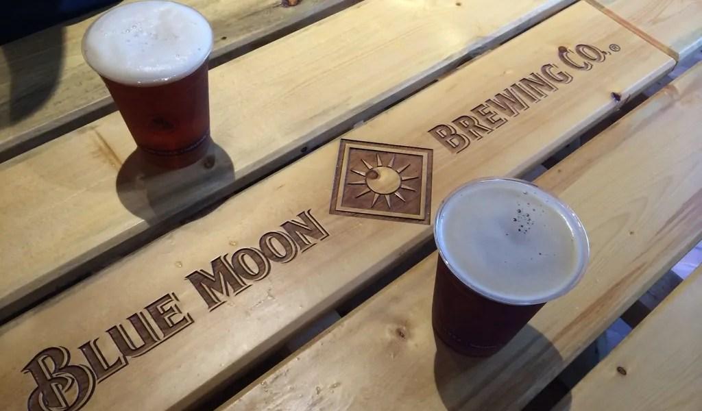 Blue Moon Brewing Co at The SandLot. Coors Field, Denver CO | bottlemakesthree.com