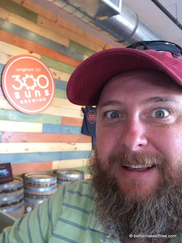 Brewery Review: 300 Suns Brewing in Longmont, CO | https://www.bottlemakesthree.com