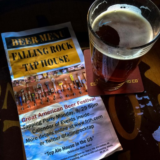 Falling Rock Tap House, a must stop in Denver during GABF week. | Denver Beer Week & Other Beer-Filled Events Outside GABF by BottleMakesThree.com