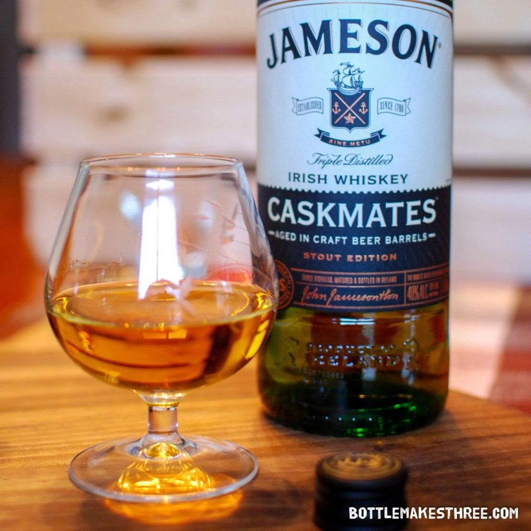 Jameson Caskmates, When Whiskey Meets Stout | BottleMakesThree.com