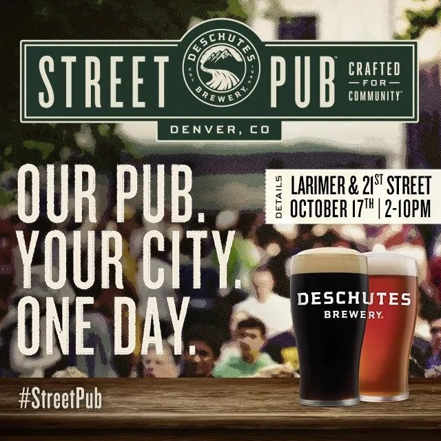 Deschutes Brewing Street Pub is coming to Denver | BottleMakesThree.com