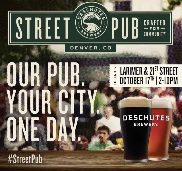 Deschutes Brewing Street Pub is coming to Denver | BottleMakesThree.com