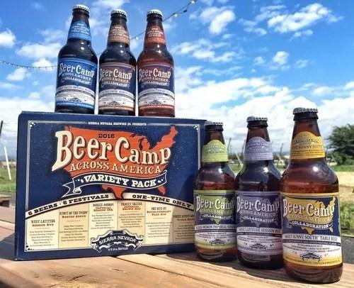 Sierra Nevada 2016 Beer Camp Across America 6-Pack   BottleMakesThree.com
