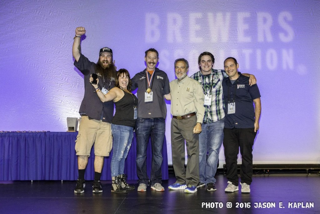 2016 GABF competition winner, Verboten Brewing