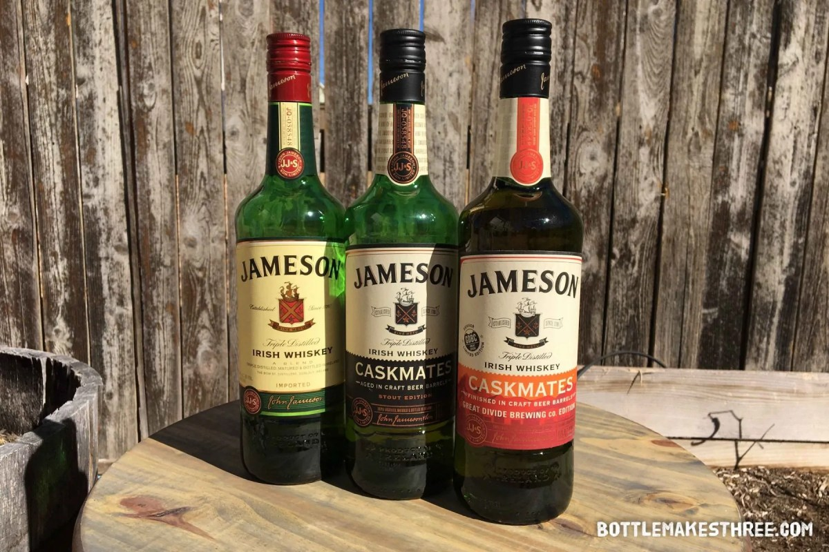 Jameson Releases Great Divide Brewing Co Edition of Caskmates