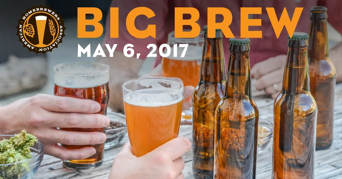 Celebrate AHA Big Brew on Saturday, May 6