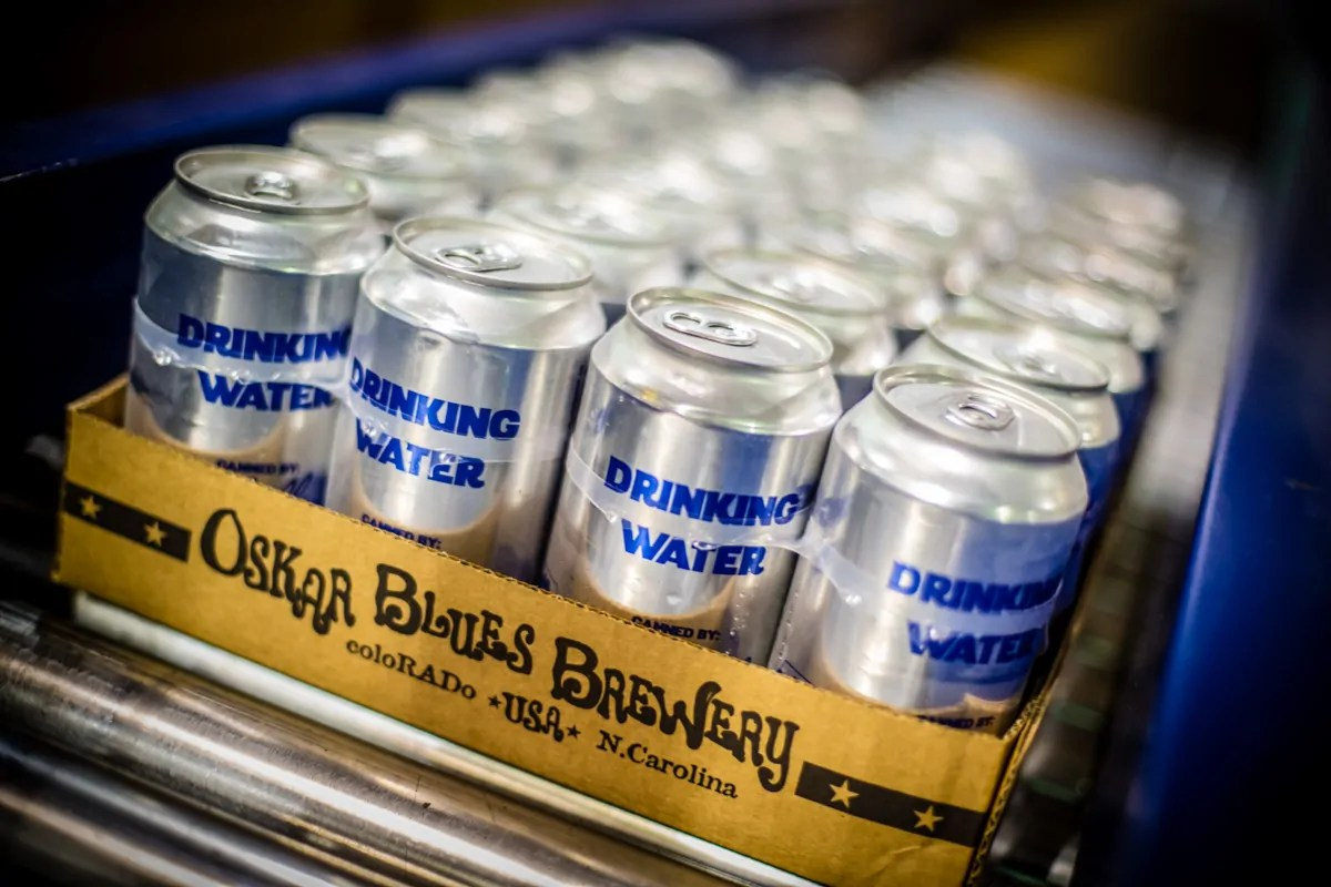 Oskar Blues Brewery and the CAN'd Aid Foundation are working with Frontier Airlines to get drinking water to the people of Puerto Rico. | BottleMakesThree.com