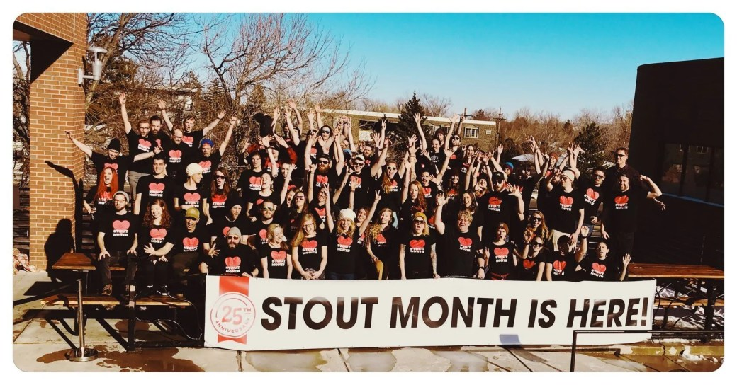Stout Month 2018 is here! Celebrate 25 years of Stout Month at all five Mountain Sun locations