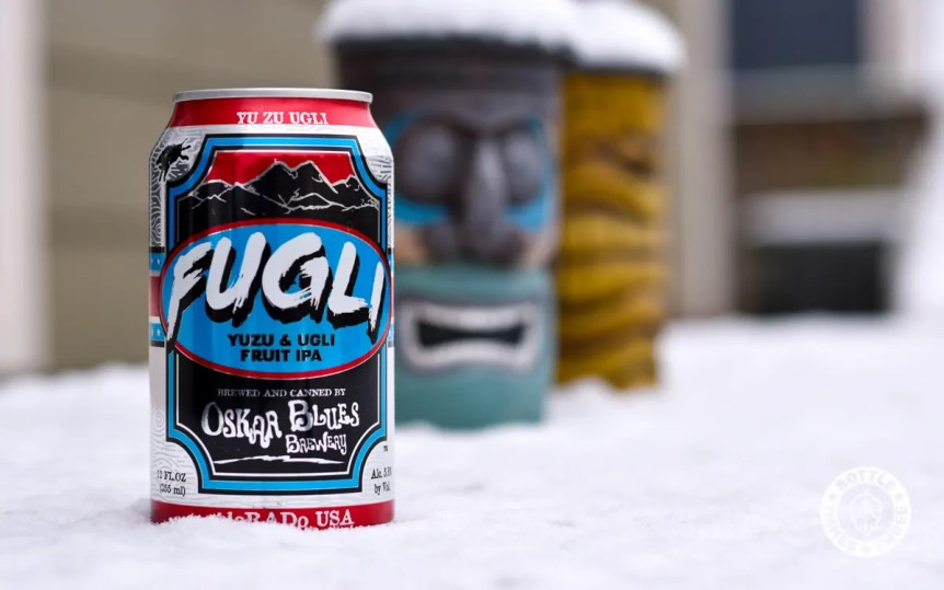 Oskar Blues Brewery's summer seasonal, FUGLI Yuzu & Ugli Fruit IPA, is back for summer 2018.