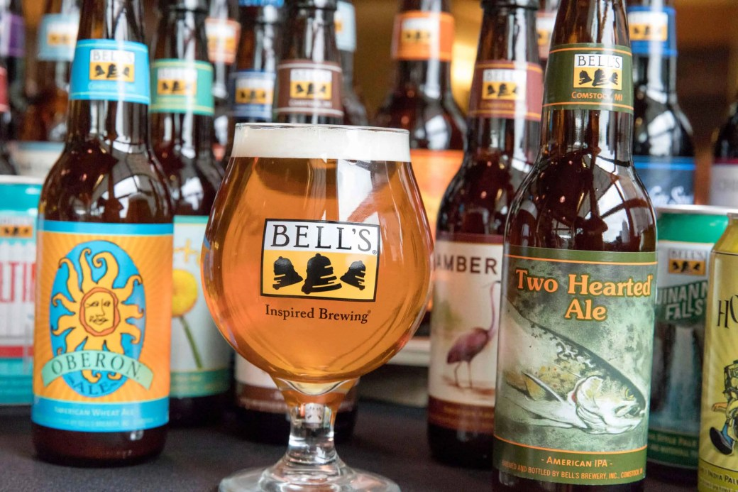 Welcome to Colorado to Bell's Brewery. We're thrilled we can now find Two Hearted close to home |  BottleMakesThree.com