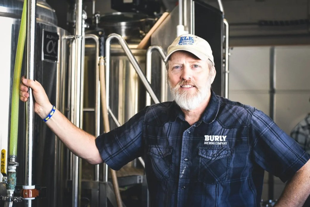 Jim Stinson, Head Brewer at BURLY Brewing Company, a craft brewery in Castle Rock, Colorado