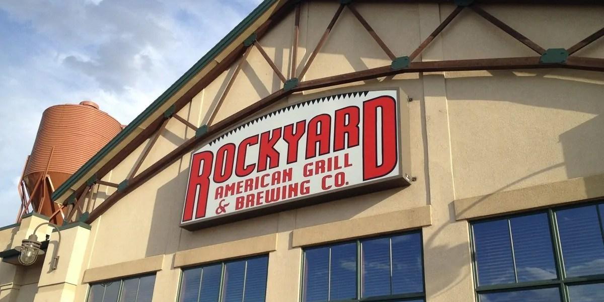 Rockyard Brewing Company in Castle Rock, Colorado.