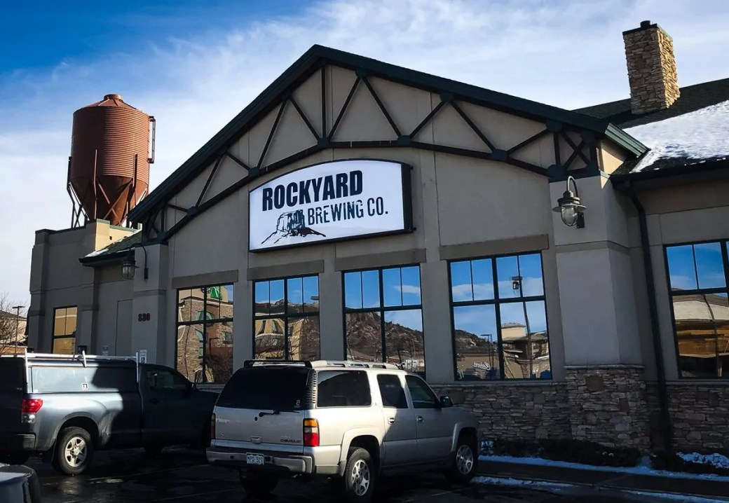Rockyard Brewing Company, Castle Rock, Colorado. Castle Rock's original brewpub and craft brewery.