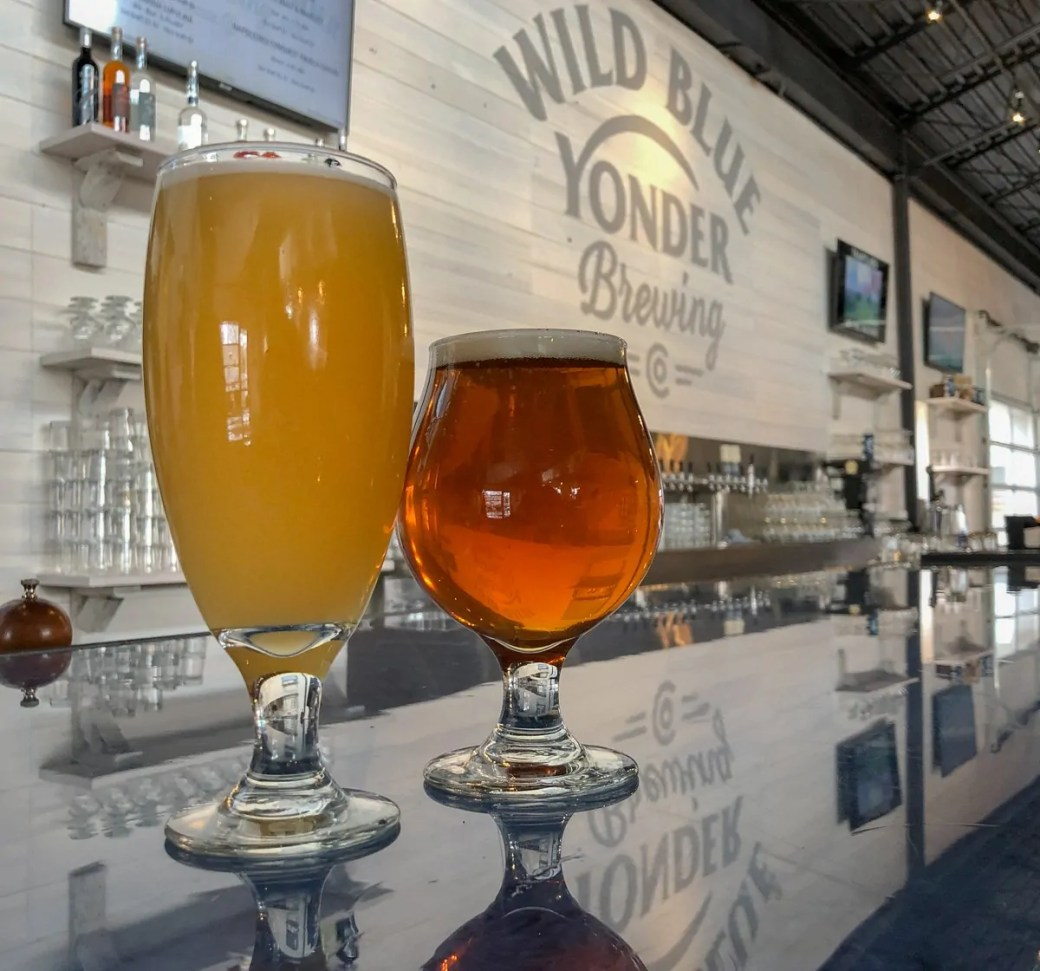 Wild Blue Yonder Brewing Co, a craft brewery and brewpub in Castle Rock, Colorado.