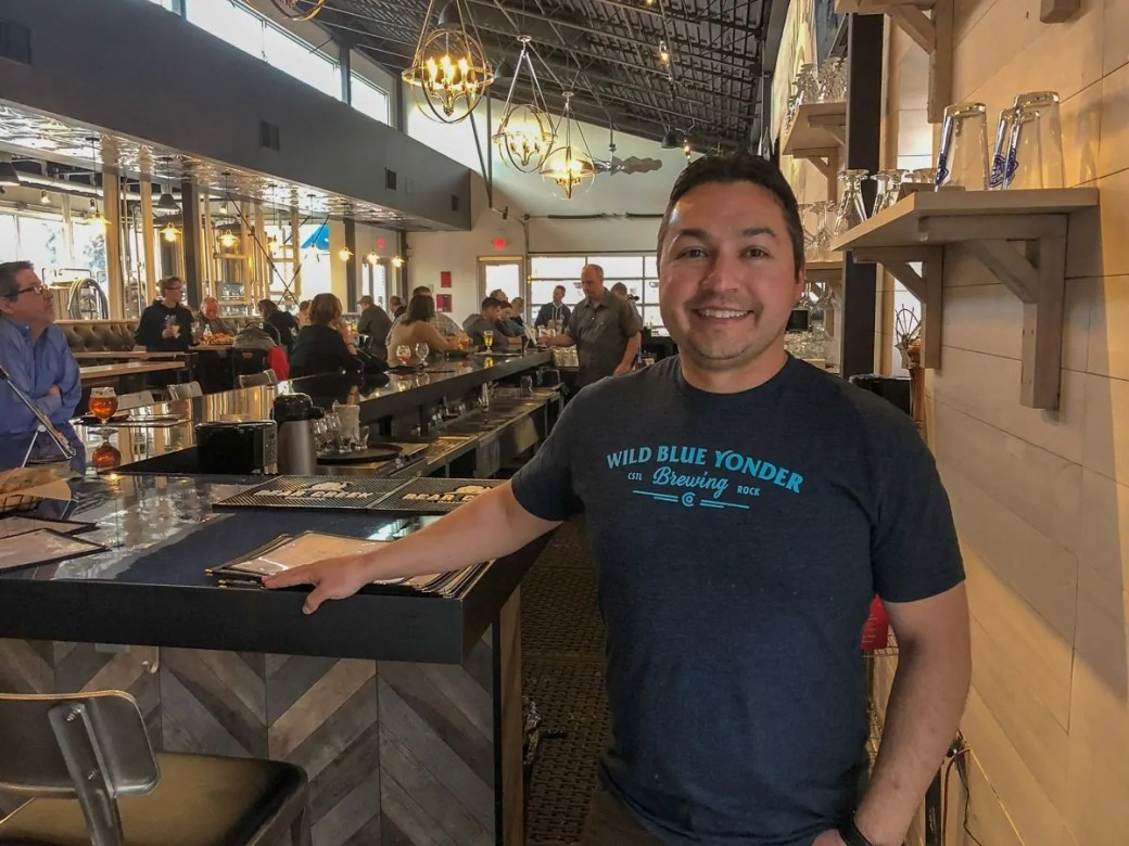 Wild Blue Yonder Brewing Company's Andrew Wasson