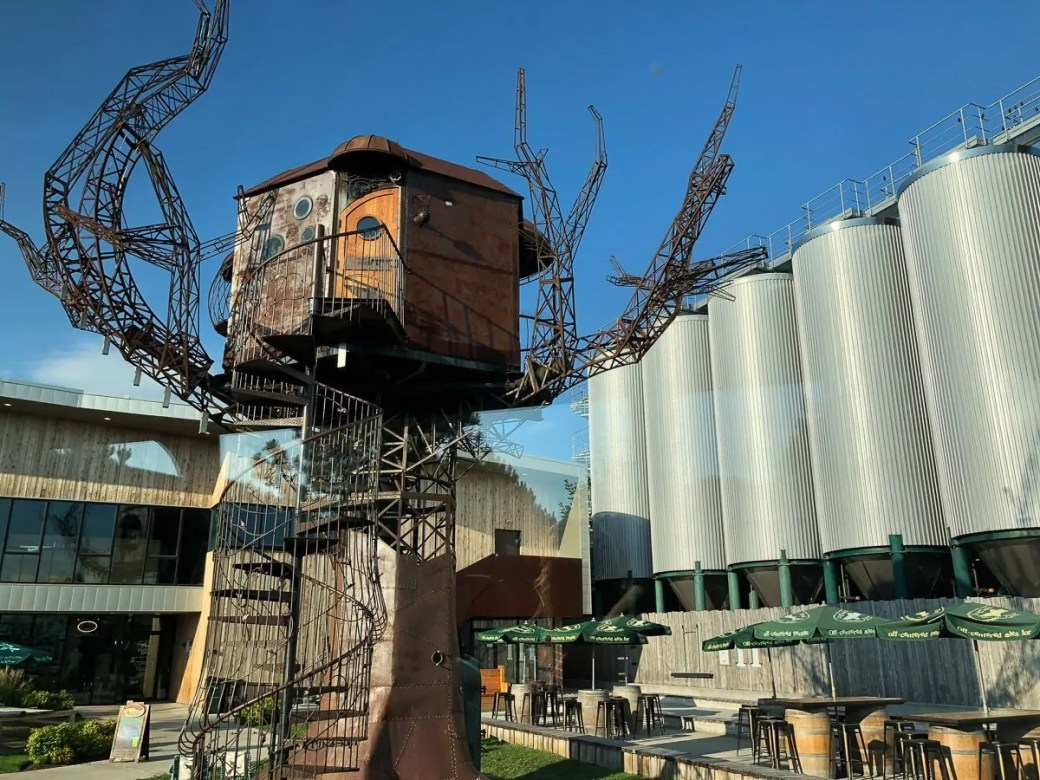 Visiting the Dogfish Head Brewery in Milton, Delaware