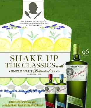 Ultraprémiový americký craftový gin s toskánskou dušou