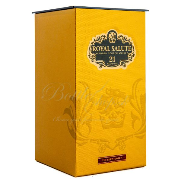Chivas regal 21 YO royal salute OLD EDITION RUBY 0,7l