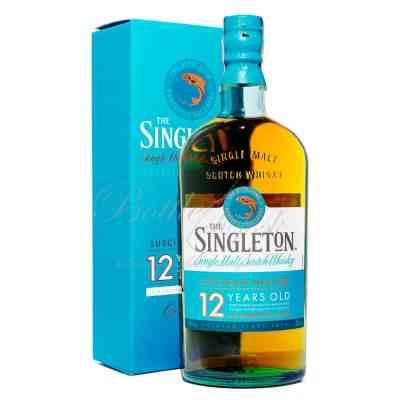 Speyside single malt whisky Singleton 12 ročná