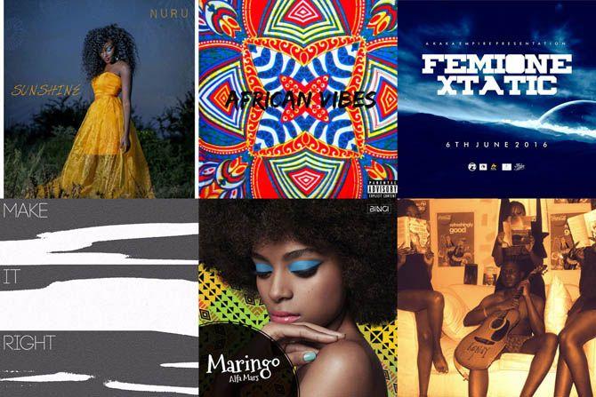 new music kenya 2016 Anthony Wasonga, Alfa Mars, FemiOne, Muthoni The Drummer Queen, Nuru, Outgrown