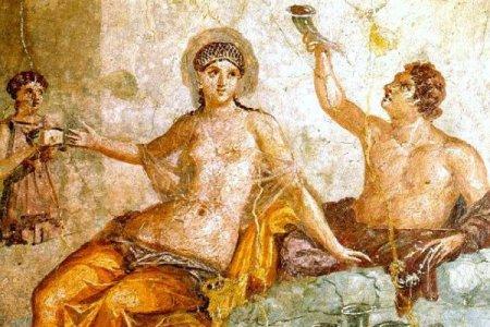 Római lakoma képe