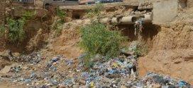 قبل حلول الكارثة  حي اولاد حميدة يشتكون الى السلطات