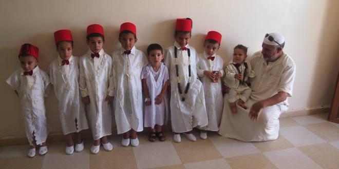 جمعية نشاطات الشباب المركز الثقافي لحي اول نوفمبر في عملية ختان ثانية