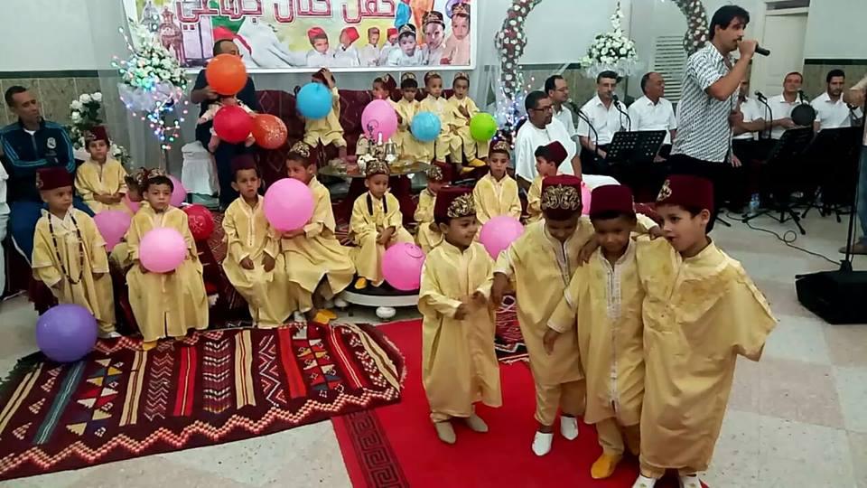 حفل ختان جماعي ل36 طفل لجمعية احباب مدينة بوسعادة