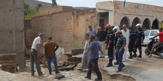 بلدية بوسعادة تقصى حي أولاد حميدة …. و شهر الفيضانات قد حل