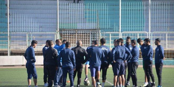 ألامل يدخل في اخر استعداداته الجدية لمقابلة المولودية في أطار الدور 16 من كأس الجزائر