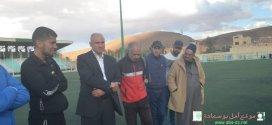 زيارة رئيس دائرة بوسعادة س نفلة لاواسط امل بوسعادة  المتاهلين لنهائي كأس الجزائر