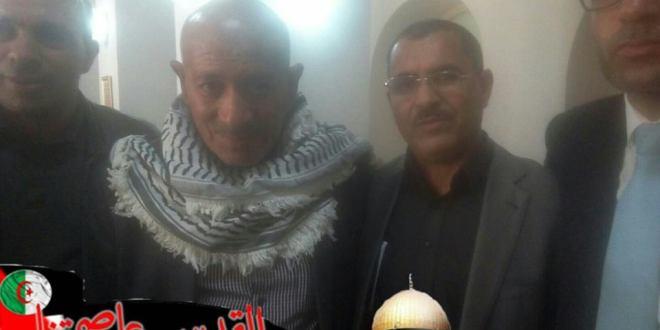 دردشة مطولة مع ممثل سفارة فلسطين بالجزائر عبد المجيد الدوايمة
