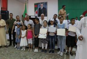 جمعية احباب مدينة السعادة تقيم حفل توزيع شهادات لتظاهرة الطفل المبدع