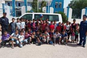 امن دائرة 'جبل امساعد في أبواب مفتوحة على مصالحها بمناسبة اليوم الوطني للطفل الجزائري