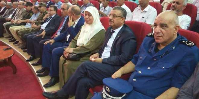 النائب تشارك في حفل تكريم المتفوقين من التلاميذ الذين نجحوا في الامتحانات الثلاث.