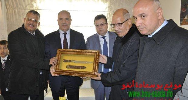وزير الموارد المائية السيد حسين نسيب في زيارة رسمية الى بوسعادة .. صور