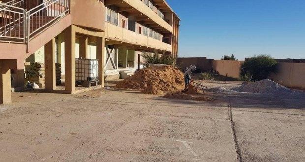 رئيس دائرة بوسعادة يتفقد بلدية الهامل.