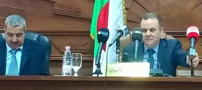 السيد اوشان إبراهيم والي ولاية المسيلة في زيارة تفقدية لبوسعادة