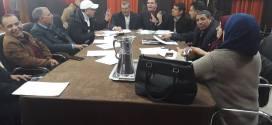 اجتماع لجنة المالية الاقتصاد والاستثمار من اجل وضع دفتر شروط  كراء محلات ملعب مختار عبد اللطيف