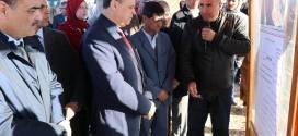 السيد ابراهيم أوشان والي ولاية المسيلة في زيارة  عمل و  تفقد الى بلديتي تامسة و سيدي عامر