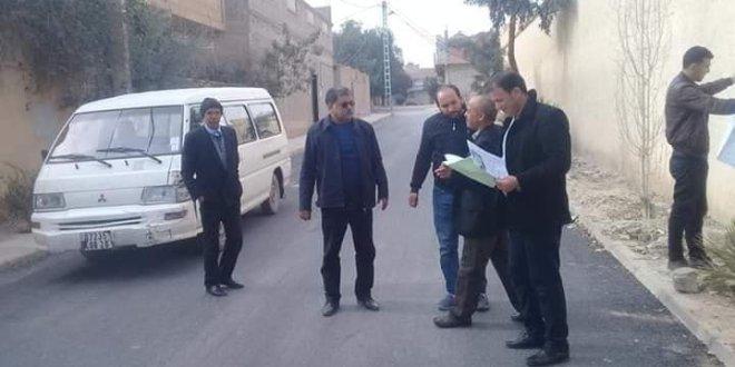 فرقة المحققين لبلدية بوسعادة تعاين البنايات بهدف تسويتها