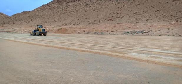 تهيئة جزئية لساحة العب بحي سيدي سليمان البناء الذاتي