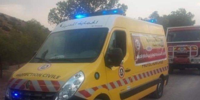 وفاة شخص وجرح شخصين آخرين في حادث مرور بمنطقة العجالات