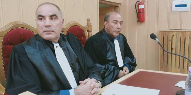 تنصيب رئيس المحكمة الادارية ومحافظ الدولة اليوم بمقر المحكمة الادارية بالمسيلة